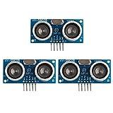 3個 HY-SRF05超音波距離センサモジュール測定センサモジュール Arduinoに互換