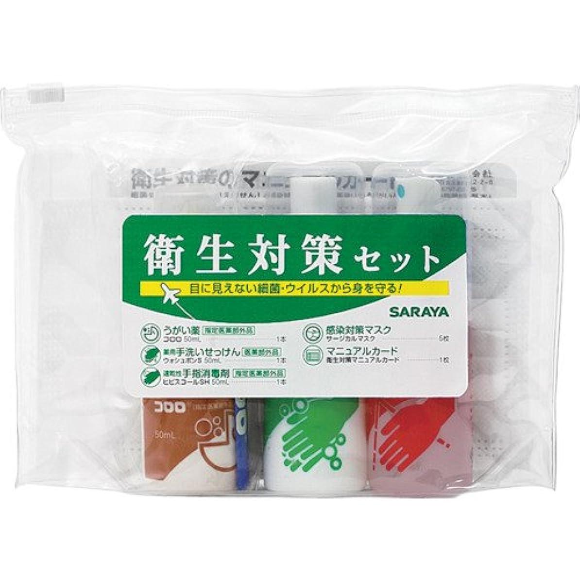 応じるネズミ相互サラヤ 衛生対策セットN 42393