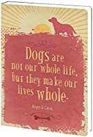 Tree-Free Greetings Recycled Soft Cover Journal Ruled 5.5 x 7.5 Inches 160 Pages Life Whole Themed Pet Lover Art (89177) [並行輸入品]