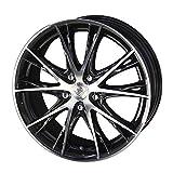 KYOHO【共豊】  タイヤホイール 18インチ STEINER TX5 18X8.0 +38 5H114.3 カラー ブラック×ミラーフィニッシュ