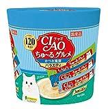 チャオ ちゅ〜る グルメ かつお海鮮バラエティ 14gx120本