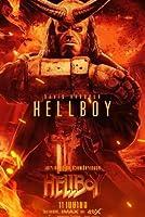 映画のポスターヘルボーイ(2019)-28アート映画のポスターフレーム、装飾が施された部屋、サイズ:30x21cm 最高の贈り物