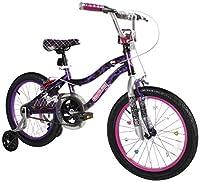 Dynacraft Monster High Girls BMX Street/Dirt Bike 18 Black/Purple/Pink [並行輸入品]