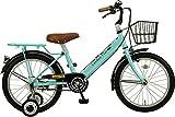 JEFFERYS(ジェフリーズ) 自転車 子供用 18インチ ロンドンタクシー 補助輪 バスケット 標準装備 JP8689 ライトブルー 18インチ