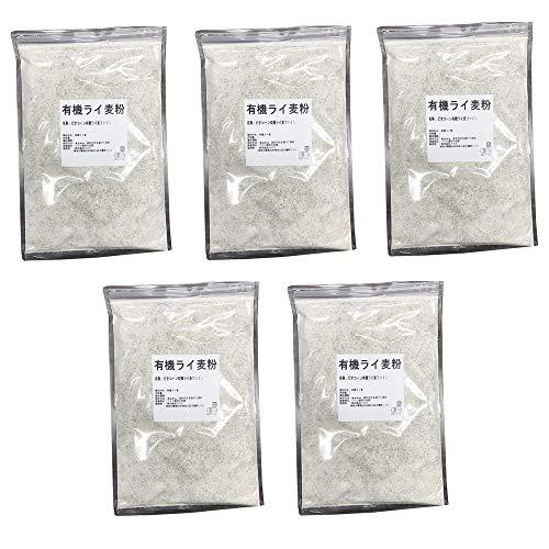 ライ麦 (有機ライ麦粉 4.5kg)
