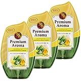 【まとめ買い】 お部屋の消臭力 Premium Aroma プレミアムアロマ 消臭芳香剤 玄関 寝室 部屋用 ユーカリ&ゼラニウム 400mL×3個