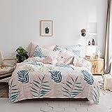 春夏 北欧清新風 植物模様 寝具カバーセット 掛け布団カバー シーツ 枕カバー