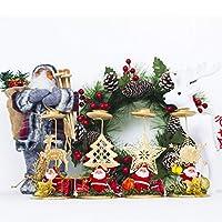 Sharplace キャンドルホルダー 蝋燭 クリスマス ホームパーティー 飾り 4色選べ - エルク