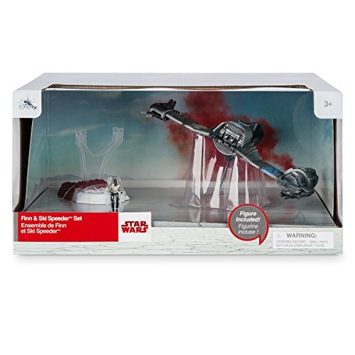 Star and wars and the last Jedi 2017 USA Disney Store exclusive Deluxe vehicle set fin - 0 - skiing/speeder / STAR WARS: THE LAST JEDI Disney Store EXCLUSIVE De Luxe Vehicle Set FINN-0 - SKI SPEEDER [parallel import goods: latest movie episode 8