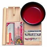 豊稔企販 家庭用麺打セットB そばの作り方説明書付 A-1280