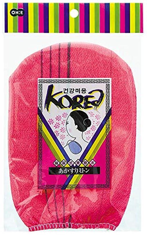 フロー民間ホバーオーエ KO(韓国式) あかすりミトン R