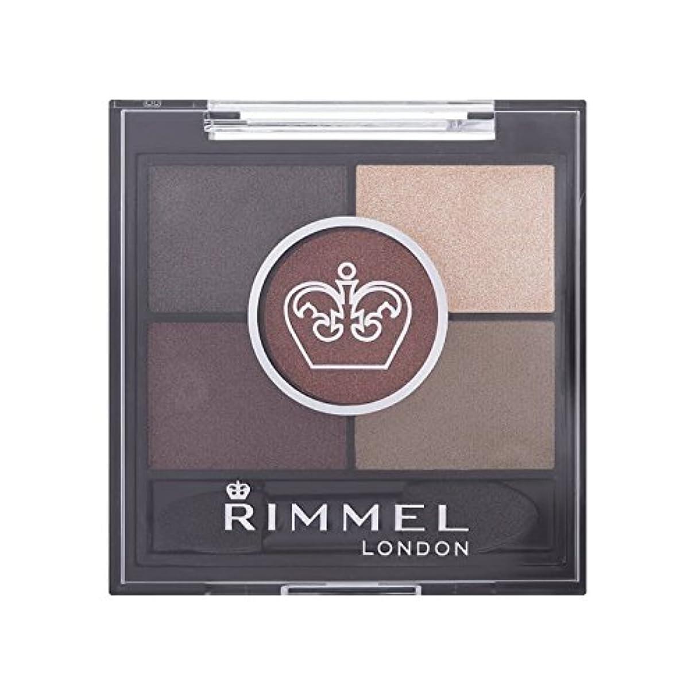 モール宣言私たちRimmel 5 Pan Eyeshadow Brixton Brown - 茶色のブリクストンリンメル5パンアイシャドウ [並行輸入品]