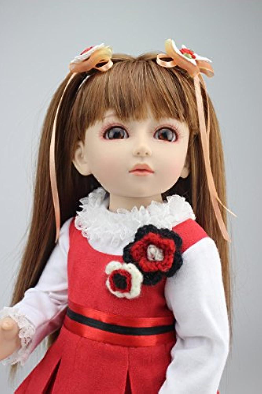 NPK COLLECTION 45cm ドール お人形 きせかえ人形 可愛い女の子 新年プレゼント 誕生日プレゼント