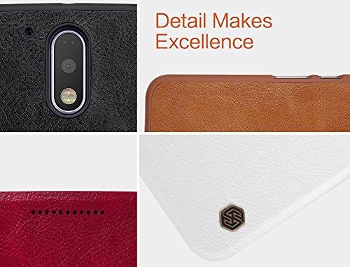 『NILLKIN Motorola Moto G4 Plus 2016 スマートフォンケース 褐色』の5枚目の画像