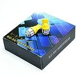 ぶーぶーマテリアル T10 LED ウェッジ球 5連 SMD5050 ポジション アンバー 橙 ランプ 2個セット 車 【カーパーツ】