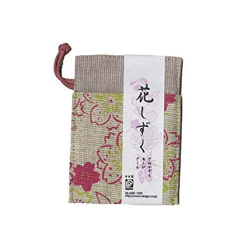 ダイゴー 花シズク カードケース サクラ N1219
