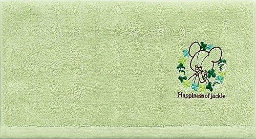 センコー BS ハピネスジャッキー フェイスタオル 33×75cm グリーン 78253の詳細を見る