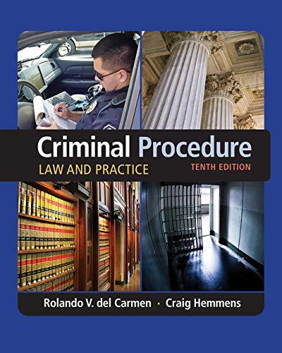 Download Criminal Procedure: Law and Practice 1305577361