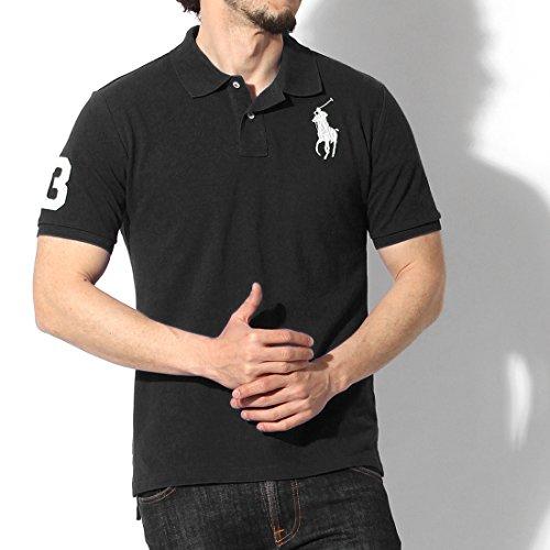 (ポロ ラルフローレン)POLO RALPH LAUREN ビッグポニー ポロシャツ 635543 メンズ レディース 01.ポロブラック XL(2L) [並行輸入品]