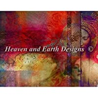 Heaven And Earth Designs(HAED) 刺繍 クロスステッチ キット Past Present Future [並行輸入品]