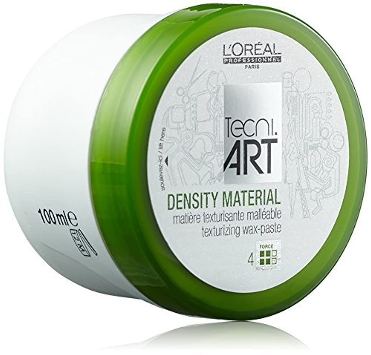荒れ地立ち向かう学校教育L'Oreal Professionnel Tecni.Art Play Ball Density Material 100ml/3.4oz by L'oreal [並行輸入品]