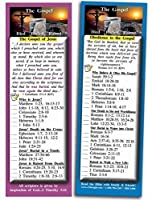 eThought Bible Verse Cards by - The Gospel of Jesus Christ - Pack of 25 Bookmark Size Cards (2.75 x 8.25) (BB-A008-25-2.75x8.25) [並行輸入品]