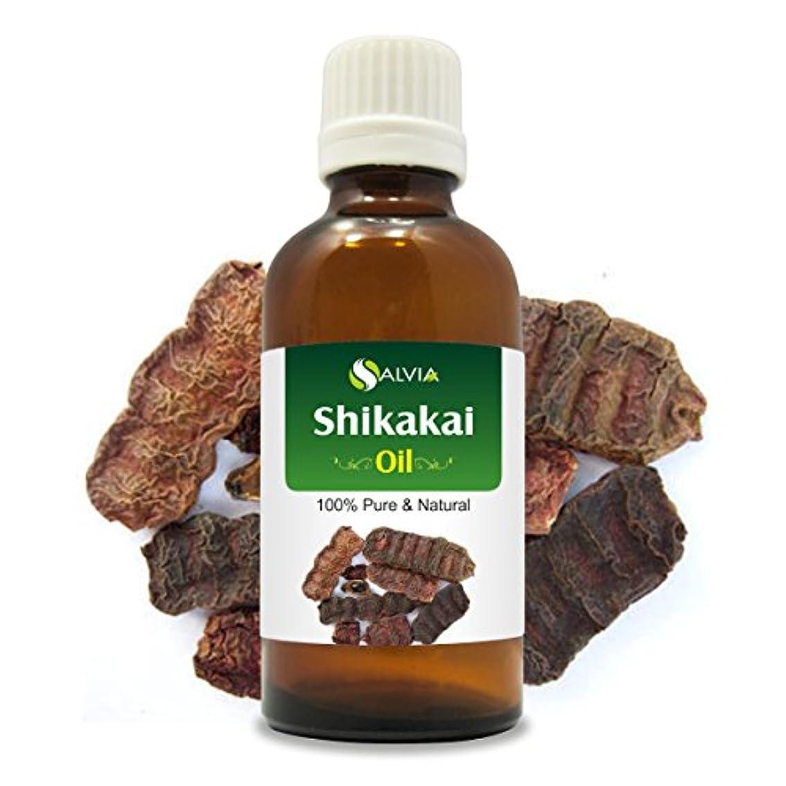 無力かりて浅いSHIKAKAI OIL 100% NATURAL PURE UNDILUTED UNCUT OIL 100ML