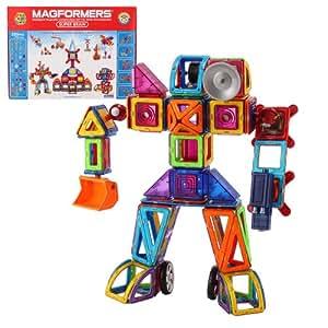 Magformers マグフォーマー 220ピース Deluxe Set デラックスセット Super Brain Set スーパーブレインセット 並行輸入品