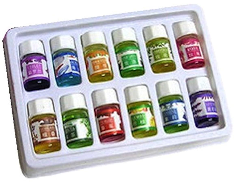 プロポーショナル微弱初期のWinning 癒しの空間 アロマオイル 12種類の香り 各3ml