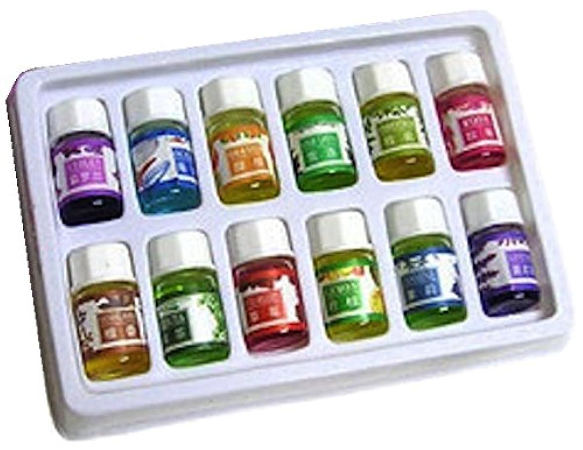 ウェブ地元好意Winning 癒しの空間 アロマオイル 12種類の香り 各3ml