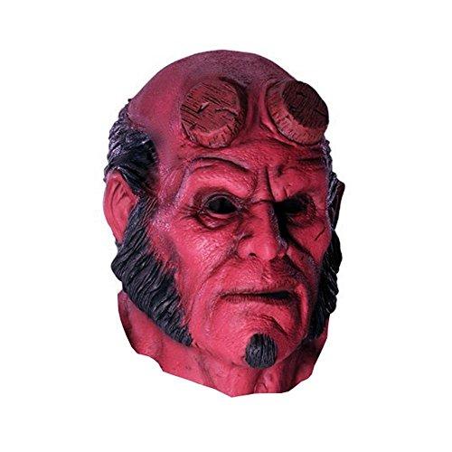 1 Halloween のためのムービー Wholesale-Horror スーパーヒーローの『ヘルボーイ』、『コスプレ』 ( コスチューム・ラテックスマスク大人党マスカレードシリコンラバーフェイスマスクピース Kanbotay
