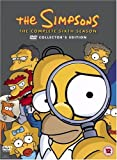 The Simpsons - Season 6 (Digipak) - Import Zone 2 UK (anglais uniquement) [Import anglais]