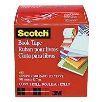"""ブック修理テープ、4"""" x 15yds、3インチコア, Sold as 1ロール"""