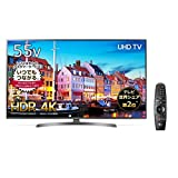 LG 55V型 液晶 テレビ 55UK6500EJD 4K HDR対応 エッジ型LED IPSパネル 2018年モデル (マジックリモコン付)