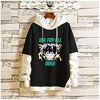 Hoodies Sweatshirt Pullover, My Hero Academia Deku Women's Pullover Sweatshirt, Long Sleeve Casual Hoodie Sweatshirt, Letter Print Hoodie Junior Girls Men's Clothing