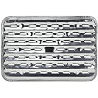 Nicole Home Collection 03270 3 Count Aluminum BBQ Grill Pans, Silver [並行輸入品]