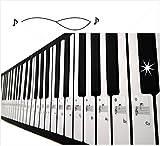 ピアノ 用 鍵盤 音符 シール ステッカー shopblueskyタグ
