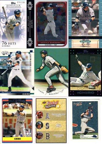 【MLB】イチロー メジャーリーグ 9枚カードセット Ichiro MLB 9-Cards Set (055)