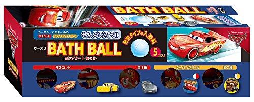 Disney カーズ3 バスボール コンプリートセット 浴剤 1セット(5個)ノルコーポレーション