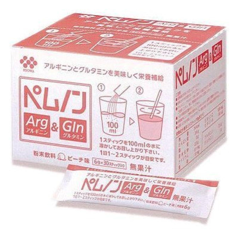 粘り強い侵入する割り込みペムノン アルギニン&グルタミン ピーチ味 6g×30スティック/箱