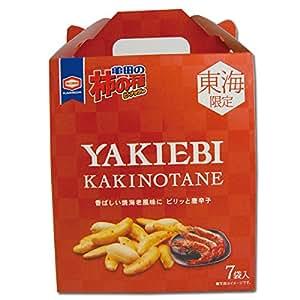 【東海限定】亀田の柿の種 YAKIEBI 7袋入