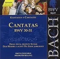 Bach: Cantatas, BWV 30, 31 (Edition Bachakademie Vol 10) /Rilling by Johann Sebastian Bach