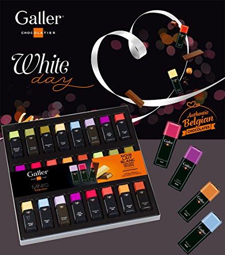 Galler(ガレー)チョコレートベルギー王室御用達ミニバーギフトボックス11種24本入り(1箱)
