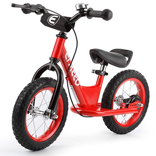 enkeeo ペダルなし自転車 バランスバイク ハンドブレー...