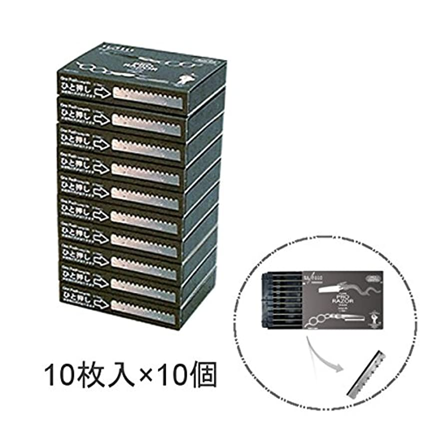 敬意を表してシェルにワイエスパーク Y.S.PARK Pro クールレザー用 替刃 10枚入×10個入