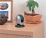 ツインバード カラー液晶モニター付室内カメラ シルバー VC-J103S