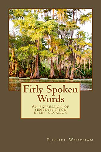 Fitly Spoken Words (English Edition)
