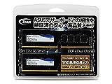 Team TED416GM2133C15DC01-AS 16GB(8GB×2) DDR4-2133対応 デスクトップ メモリモジュール