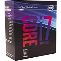 Intel Core i7-8700K Desktop Processor 6 Cores up to 4.7GHz Turbo Unlocked LGA1151 300 Series 95W [並行輸入品]