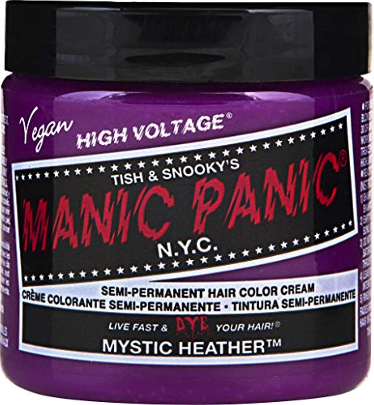 回復泥沼郵便物MANIC PANIC Cream Formula Semi Permanent Hair Color Mystic Heather (並行輸入品)